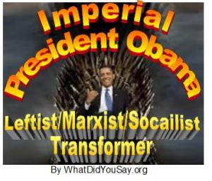Imperial President Obama