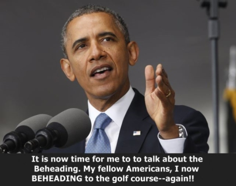 Obama beheading