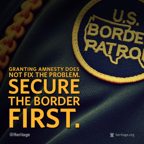 SECURE THE BORDER FIRST