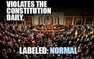 VIOLATIONS OF CONSTITUTIONAL LAW LABELED NORMAL