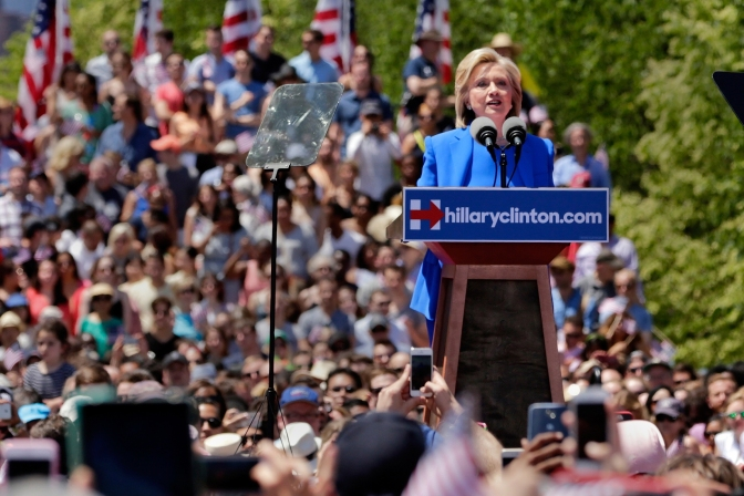 Transcript: Read the Full Text of Hillary Clinton's Campaign Launch Speech