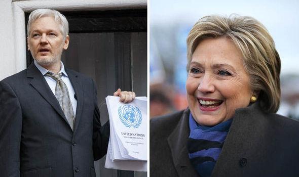 "SMOKING GUN: ""Next leak will lead to arrest of Hillary Clinton"" – Julian Assange"
