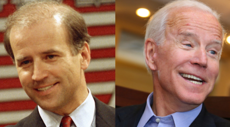 Image result for hairpeace photos of Joe Biden