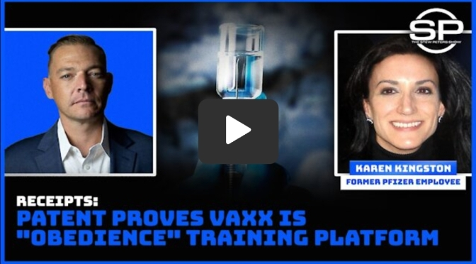 RECEIPTS! Patent PROVES Vaxx is Obedience Training Platform